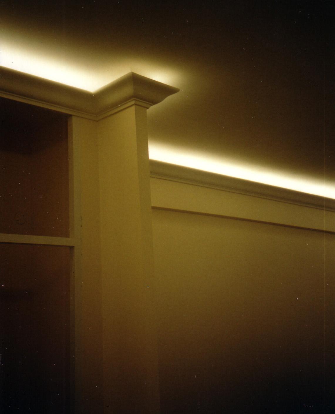 Stuccolina con luce diffusa.