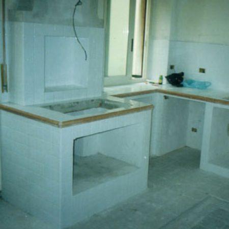 ristrutturazioni cucina in muratura