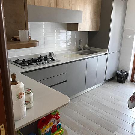 ristrutturazione rivestimento cucina ditta lanciano pasquale Roma